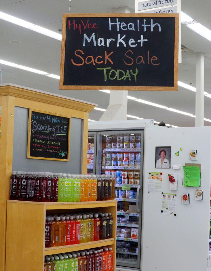 Health Market Sack Sale is a great sale! #hyvee4 #healthy
