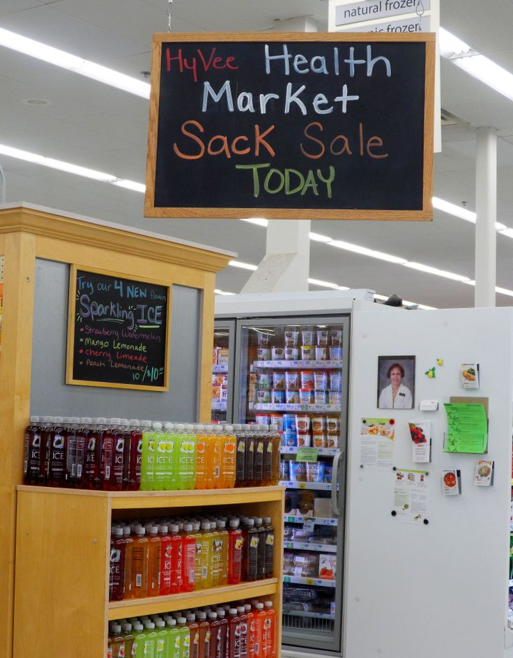 Health Market Sack Sale is a great sale! #hyvee4 #healthy
