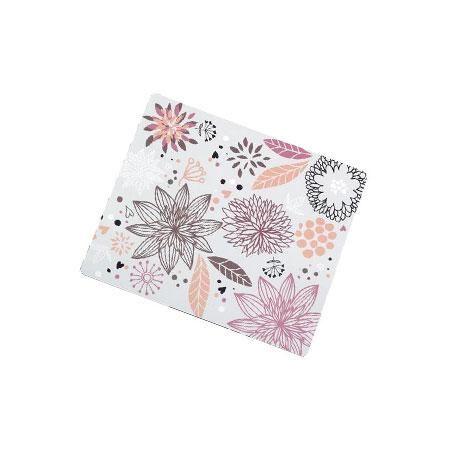 Muismat met bloemenmotief. Merk: Logilink Materiaal: stof 23 x 18 cm