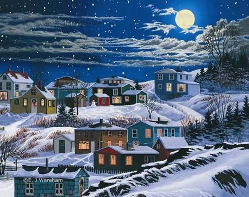 Outport Christmas All Things Newfoundland Pinterest