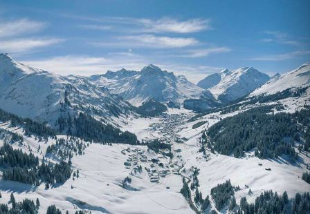 Our destination suggestion from our winter issue Zurs in Austria #austria #ski #winter #mixte17