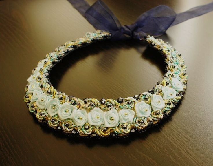 Statement Necklaces .embroidery