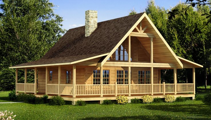 Carson - Log Home Plan | Southland Log Homes