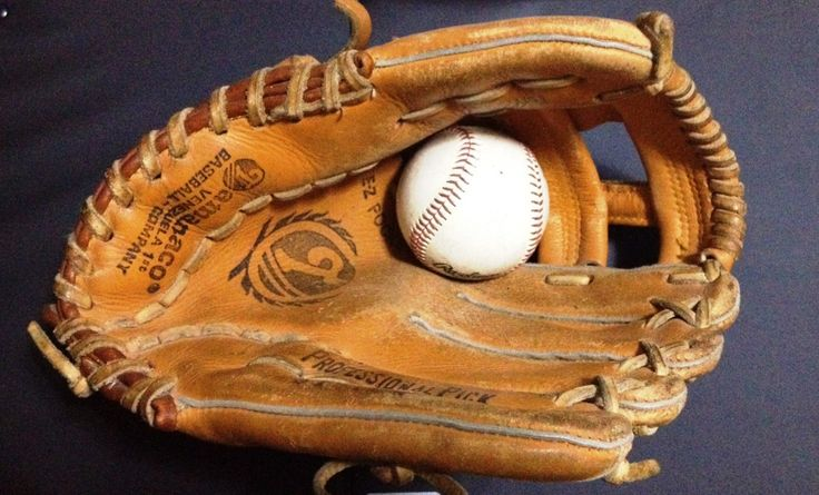Mi primer guante de béisbol