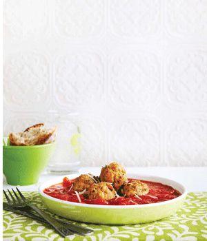 Turkey & Fennel Meatballs in Buttery Tomato Sauce