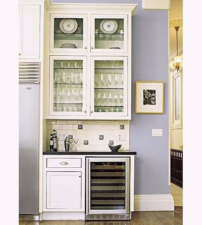 Built in bar cabinets built in bar with glass front - Built in bar cabinets ...