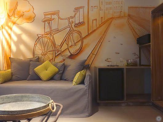 #Handmade Engraved Wall in the room #Aspalathos  Book your stay, discover every detail of #Elakati and live the #elakatiexperience http://www.elakati.com/  tel: +30 22410 70688 #Rhodes #Greece #OnTripAdvisor  email: book@elakati.com