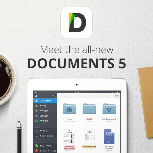 Documents app par Readdle. Gestion de fichiers cloud : #iCloudDrive, #DropBox, #GoogleDrive, #Box.com, #OneDrive, FTP, WebDav, etc. serveur web de fichier en local, envoi de doc par e-mails, visionneuse de fichiers pour #iPhone & #iPad #iOS #app