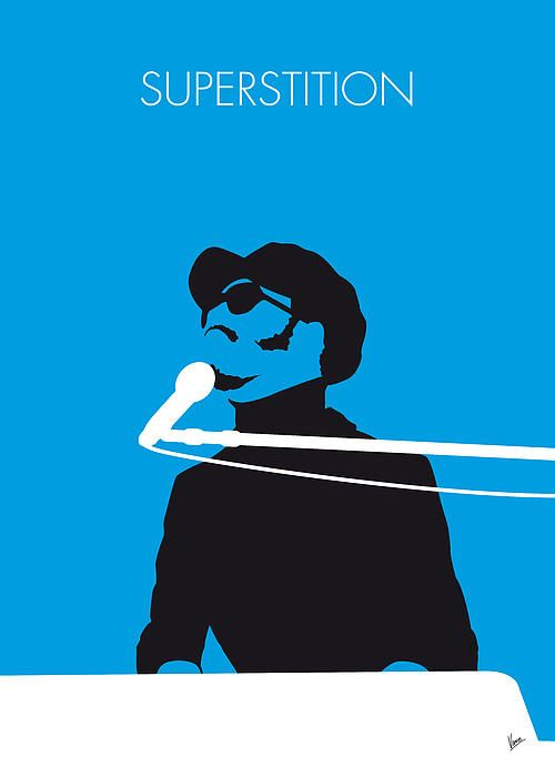 """No039 MY STEVIE WONDER Minimal Music poster by Chungkong.nl """"Superstition"""" is a popular song written, produced, arranged, and performed by Stevie Wonder for Motown Records in 1972. TAGS: STEVIE, WONDER, Superstition 70s, Talking, Book, 500, Greatest Songs, All Time, minimal, minimalism, minimalist, poster, artwork, alternative, graphic, design, idea, chungkong, cult, fan, art, print, retro, gift, room, wall, best, quote, song, music, inspiration, rock, guitar, star, artist, motown"""