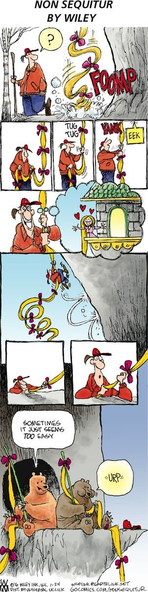 Non Sequitur Comic Strip, January 24, 2016 on GoComics.com