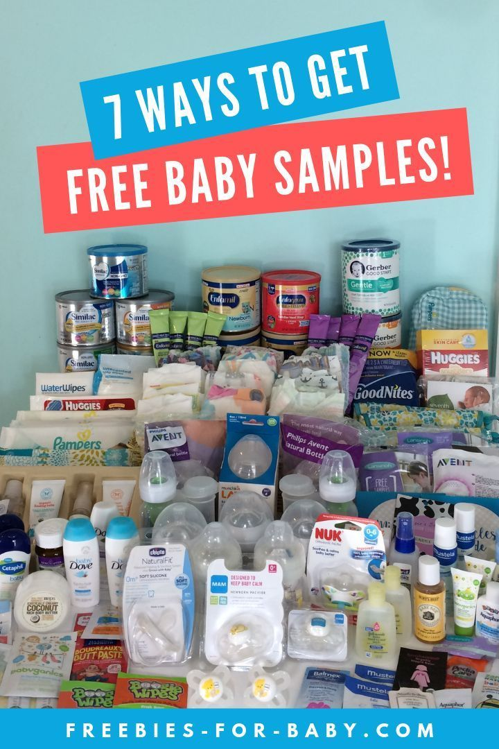 7 Easy Ways To Get Free Baby Samples 2019 Free Baby Samples