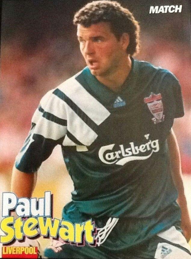 Paul Stewart of Liverpool in 1992.