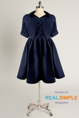 elizaparker.com- pretty dresses for the plus figureSpring Dresses, Poplin Dresses, Nantucket Dresses, Parker Nantucket, Navy Cotton, Cotton Poplin, Dresses 148, Eliza Parker, Work Dresses