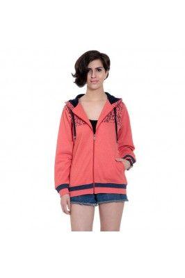 Peach women's sweatshirt  #womensfashion #womenssweatshirts