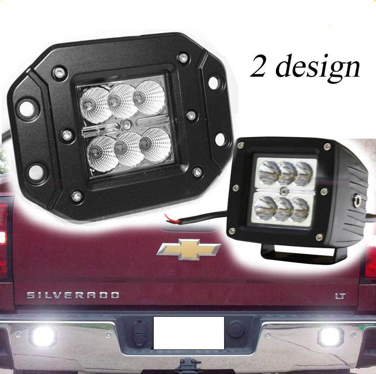 """1PC Flood Spot Beam 5"""" 18W Flush mounts offroad LED light Wrangler 4x4 POD Truck LED Pod light 18w Work Light"""