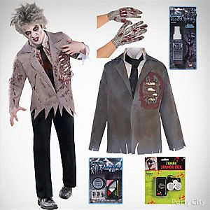 Mens Zombie Costume Idea