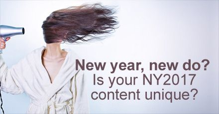 New year, new do? New year, new you? New year, new shoes? How many times do we need to read the same headline at the end of each year? Is it a tradition?