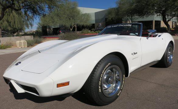 Corvettes on eBay: The Last 1975 Corvette Convertible