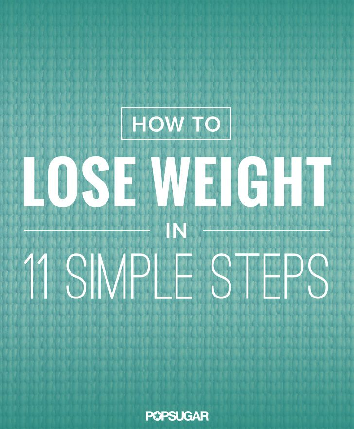 Can't slip into your favorite jeans? Ugh. Not being able to pull your pants past your thighs sure does tell you something. If you're at a loss as to how to begin, here's a no-fuss, straightforward, 11-step guide to losing weight.
