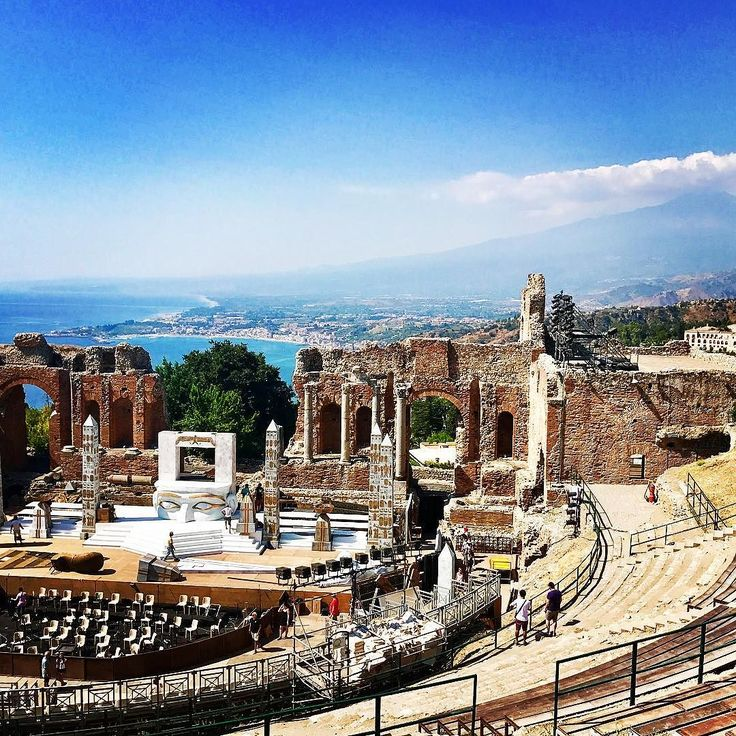 Taormina Sicilia Italia Voyage, Julien