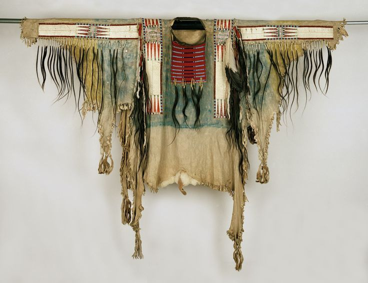 Lakota shirt, belonged to Sitting Bull, 1881