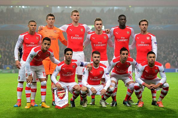 Arsenal team for win against BVB 2-0!! Yes