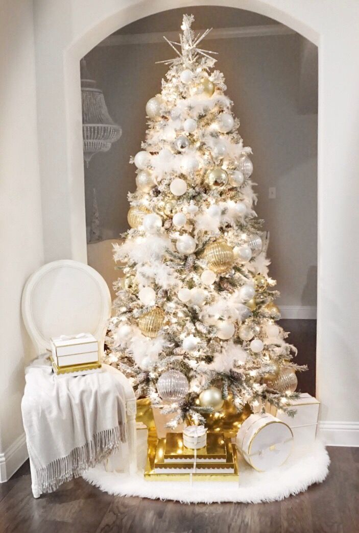 Last Christmas White Christmas Tree Decorations White Christmas Trees Neutral Christmas Decor