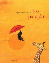 Een nieuwsgierig zwart hondje vindt een rode paraplu. Als hij hem opsteekt, pakt de wind hem op. Dit is het begin van een avontuurlijke reis rond de wereld. ...