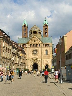 Speyer, Germany.  http://www.worldheritagesite.org/sites/speyercathedral.html