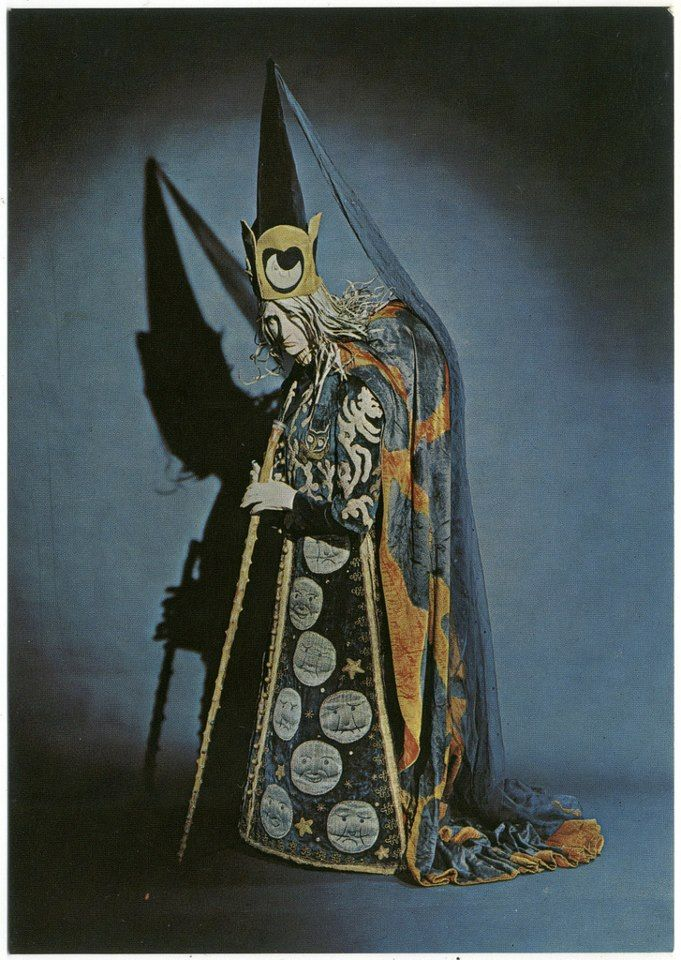 Costume Design for the Wicked Fairy Carabosse as featured in Diaghilev's production of the ballet ' Sleeping Beauty', 1921