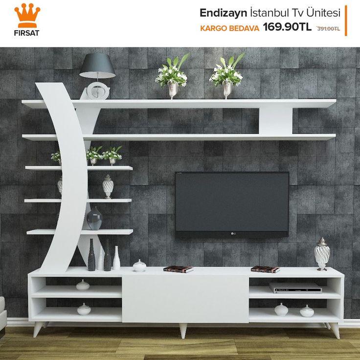 Endizayn İstanbul Tv Ünitesi sadece 169,90TL! Üstelik kargo bedava! #dekorazo…