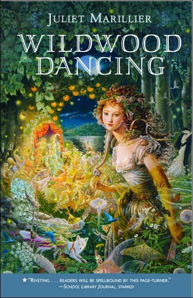 Wildwood Dancing by Juliet Marillier. A retelling of the 12 dancing princesses set in Transylvania