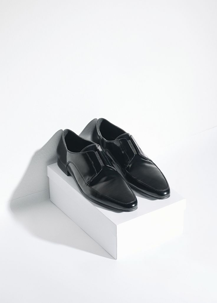 Mango penny loafers
