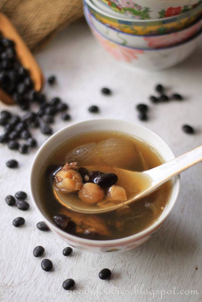 GoodyFoodies: Recipe: Chinese Black Bean Soup 烏豆湯