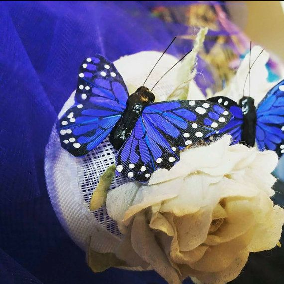 Check out this item in my Etsy shop https://www.etsy.com/uk/listing/268378941/butterfly-fascinator