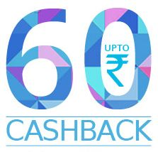 Rs.30 Cashback on Recharge of Rs.50