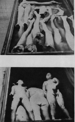 Scenes of horror at Nazi concentration camps