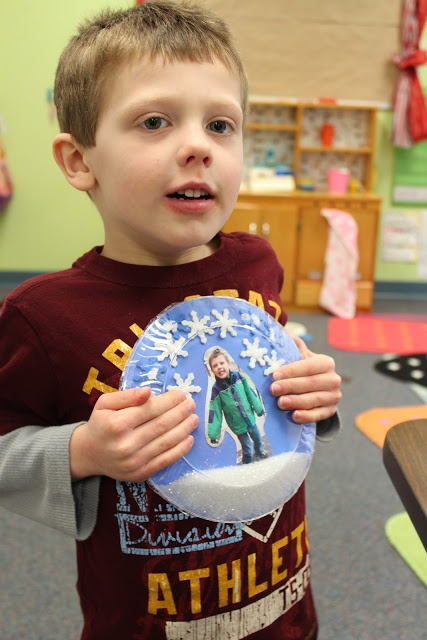 Fine Motor Control-Project allowed from fine motor skill building and early handwriting skills. Higher skilled students can write descriptive words for snow.