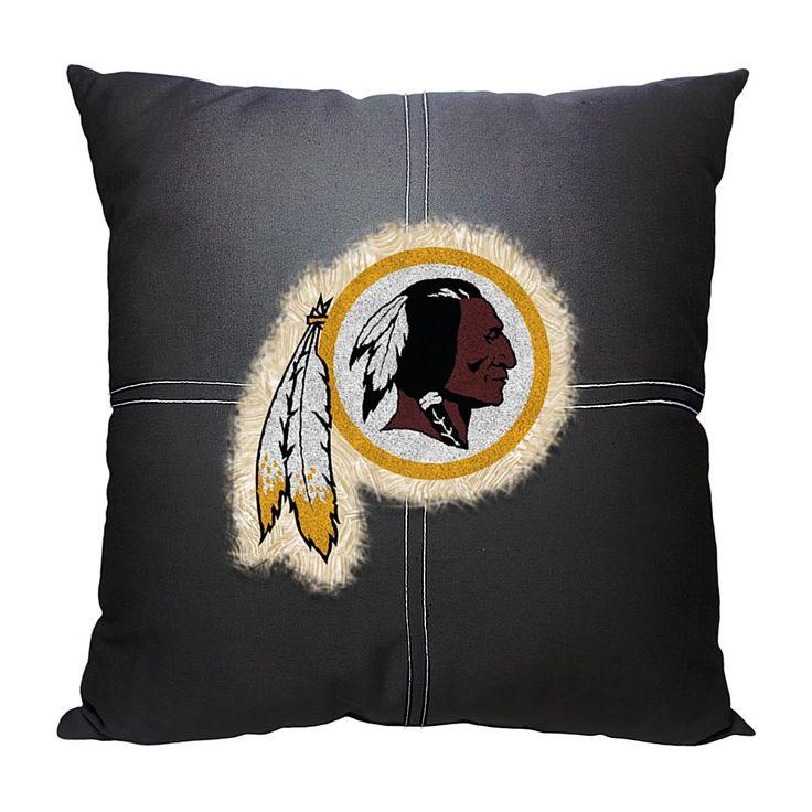 Officially Licensed NFL Letterman Pillow - Redskins