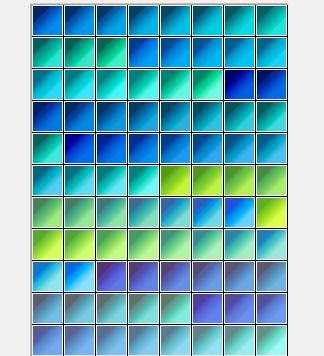 cool color gradients
