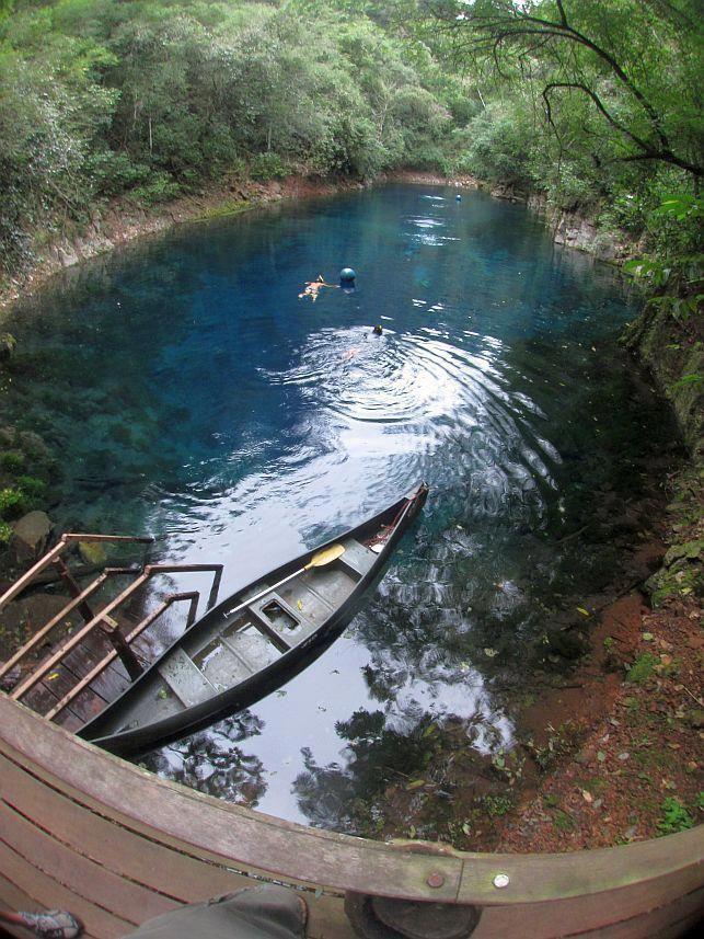 Lagoa Misteriosa. Bonito/MS