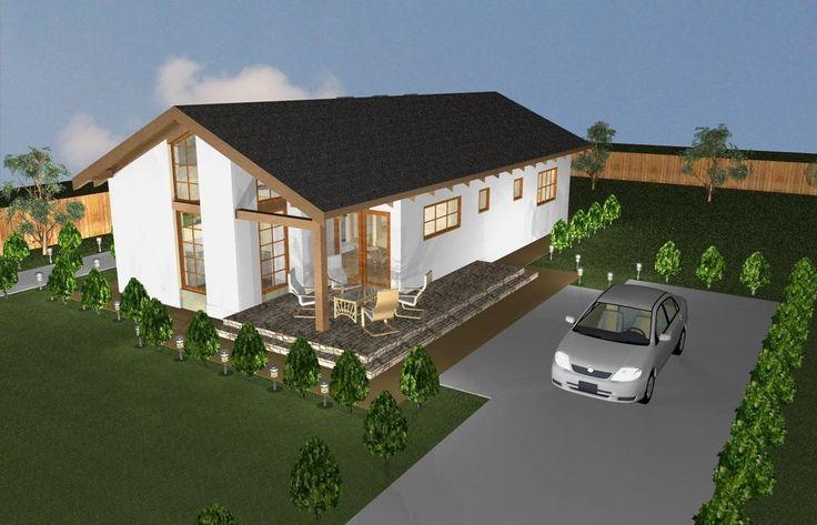 Case mici moderne cu un singur nivel