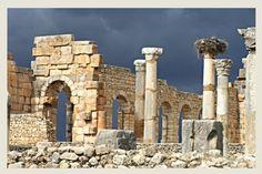 stone - volubilis, Meknes