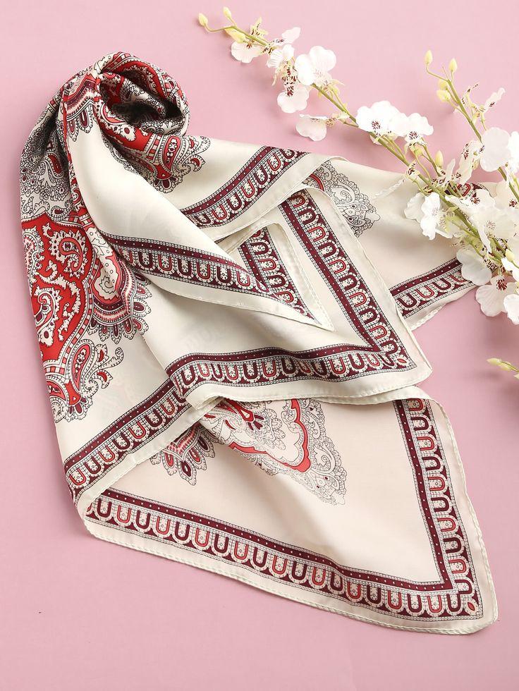 Shop Flower Print Satin Bandana online. SheIn offers Flower Print Satin Bandana & more to fit your fashionable needs.