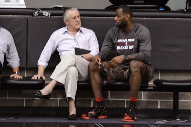 Pat Riley's moves to success.