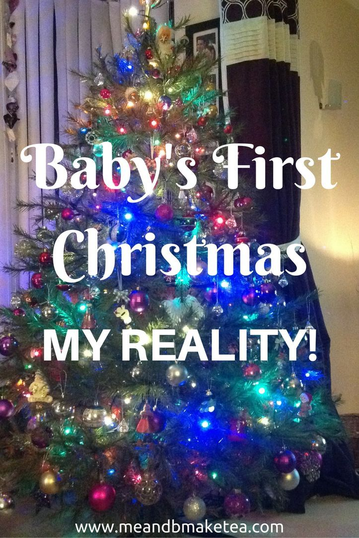 Baby's first christmas and what it was really like! Motherhood and parenting can be a tricky thing. you have all these expectations and I really thought the first Christmas with our baby would be amazing! Here is my reality of what happened and how i felt!