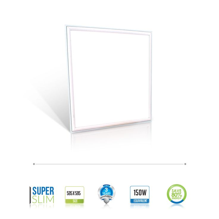 #VTAC #LED #Panel Ideal replacement for existing 150w #Fluorescent #Ceiling #Light with vital retro fit #LED Panel where you will benefit significantly by saving on energy. You will also enjoy a brighter environment.  Buy Now @ AED 128