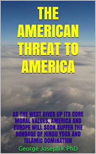 THE AMERICAN  THREAT TO AMERICA: As the West Gives up its... https://www.amazon.com/dp/B01GUDG0Q8/ref=cm_sw_r_pi_dp_yabBxbHFMCGYA