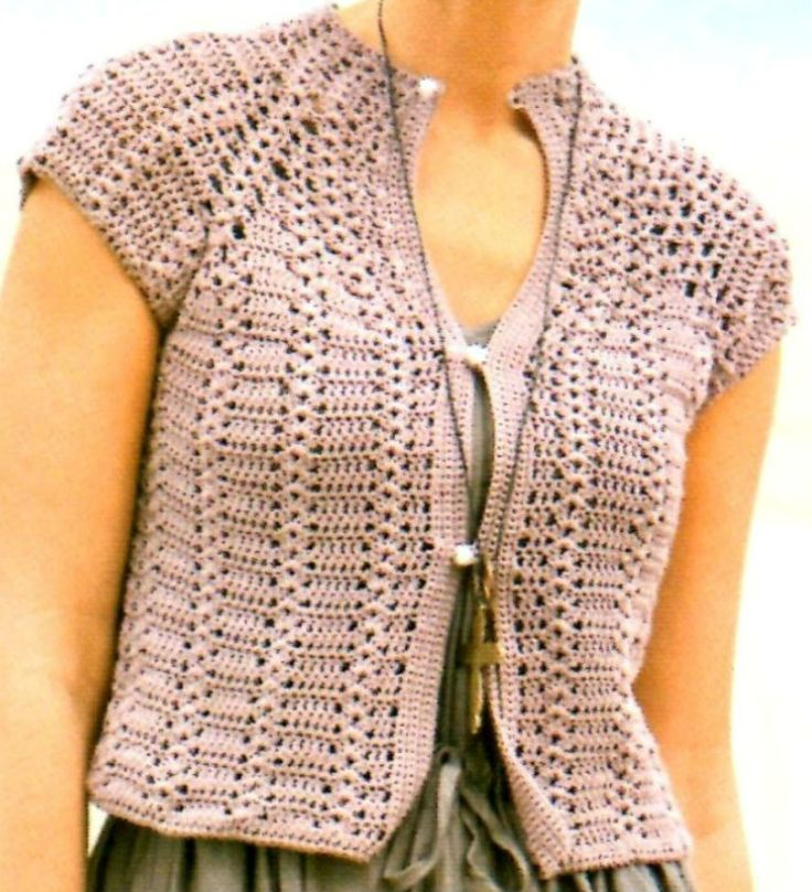 Crochét top free pattern