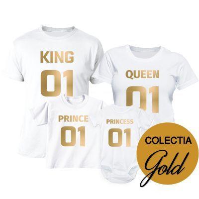 Set tricouri familie Numarul Unu GOLD